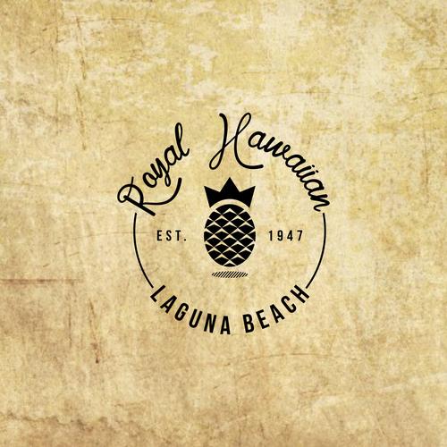 vintage emblem for restaurant company