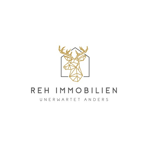 modern and geometric logo for real estate