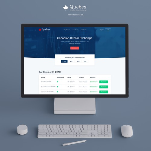 Quebex Website Design