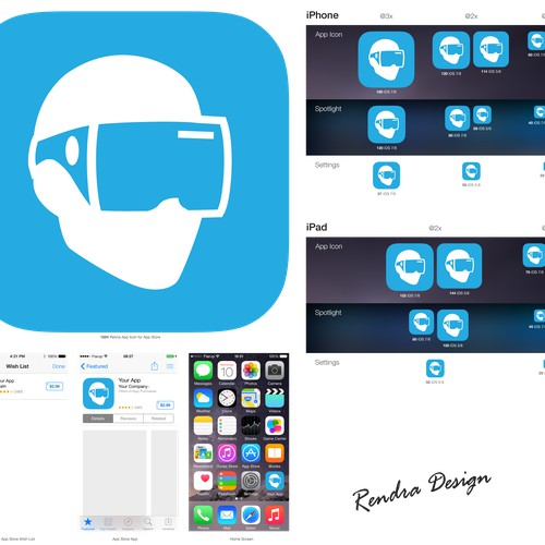 App Icon for Virtual Reality App