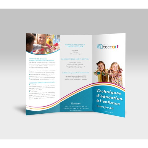 New brochure design wanted for Institute