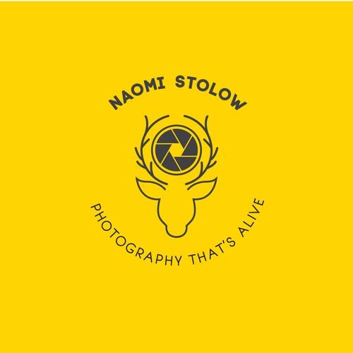 A wildlife photography logo concept