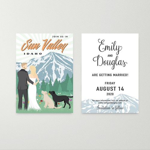 Save the Date - Emily and Douglas