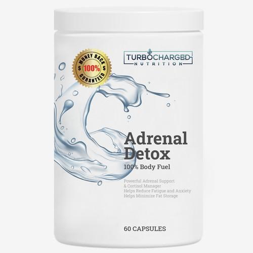 Adrenal Detox Label #1