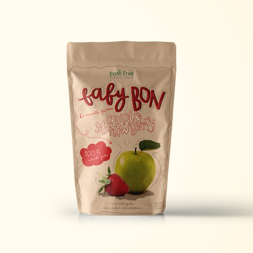 apple strawberry baby bon fruit juice