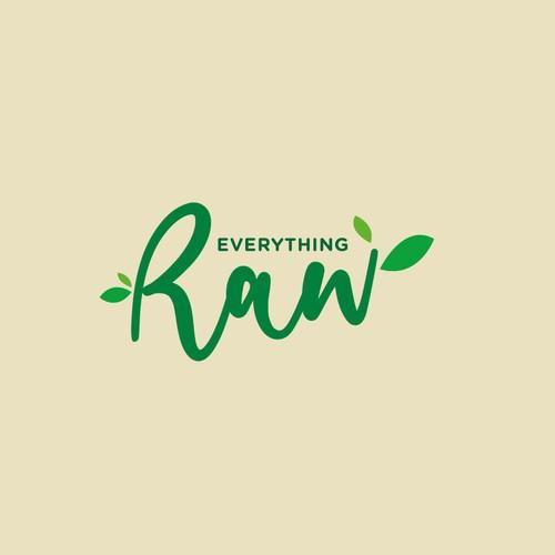 Logo design for a plant-based raw desserts company