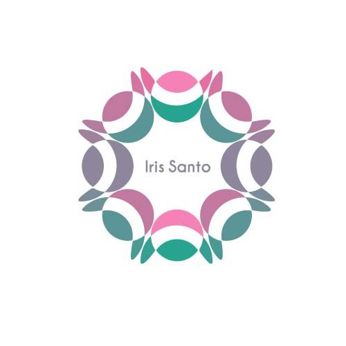 Energetic Logo Design for Iris Santo