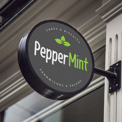 Pepper Mint cafe logo