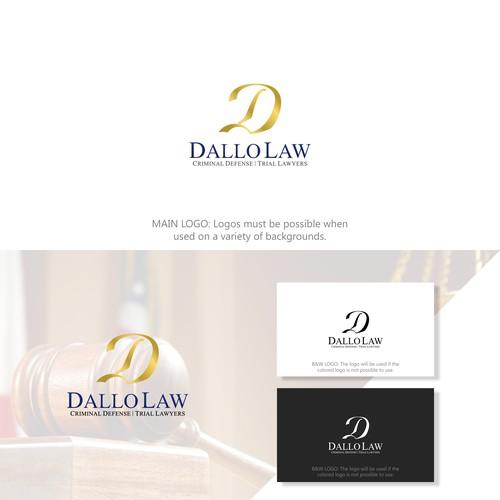 D logo concept for Dallo Law