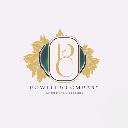 Luxury Wedding Planner Logo with Editorial Style