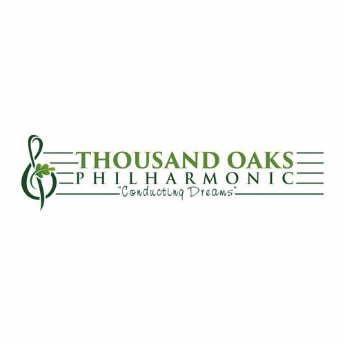Thousand Oaks Philharmonic Logo Design