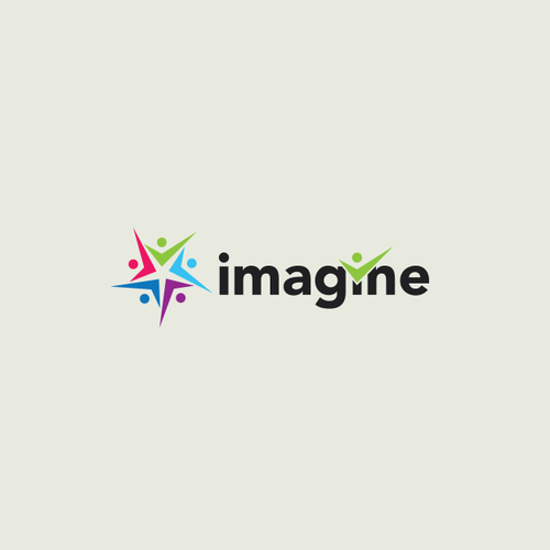 Create a logo for a financial literacy program called Imagine