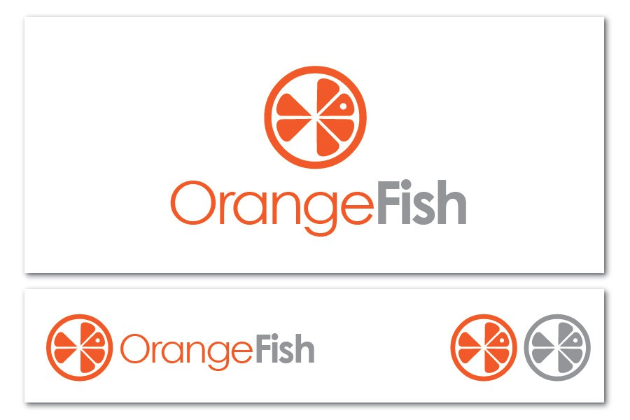 Create the next logo for OrangeFish Seo