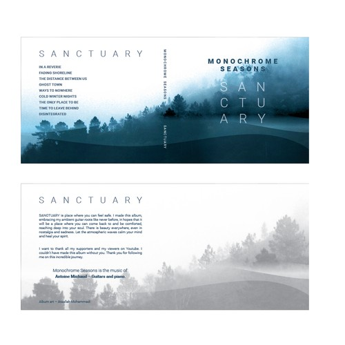 Cover Album - Monochrome Seasons - Sanctuary