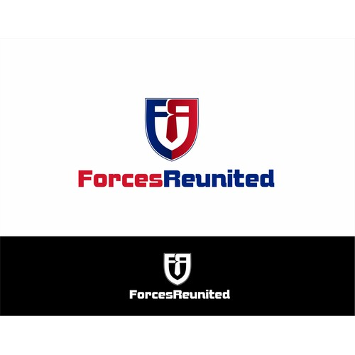 New Logo design for Forces Reunited