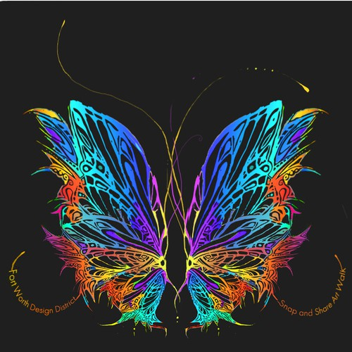 Butterfly Wings design