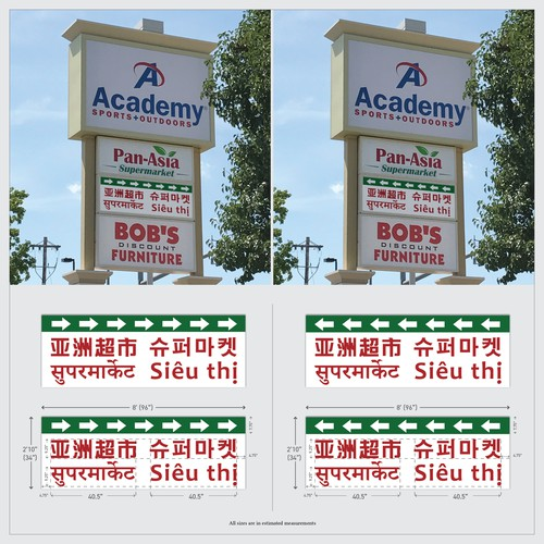 Signage Design for Asian Market