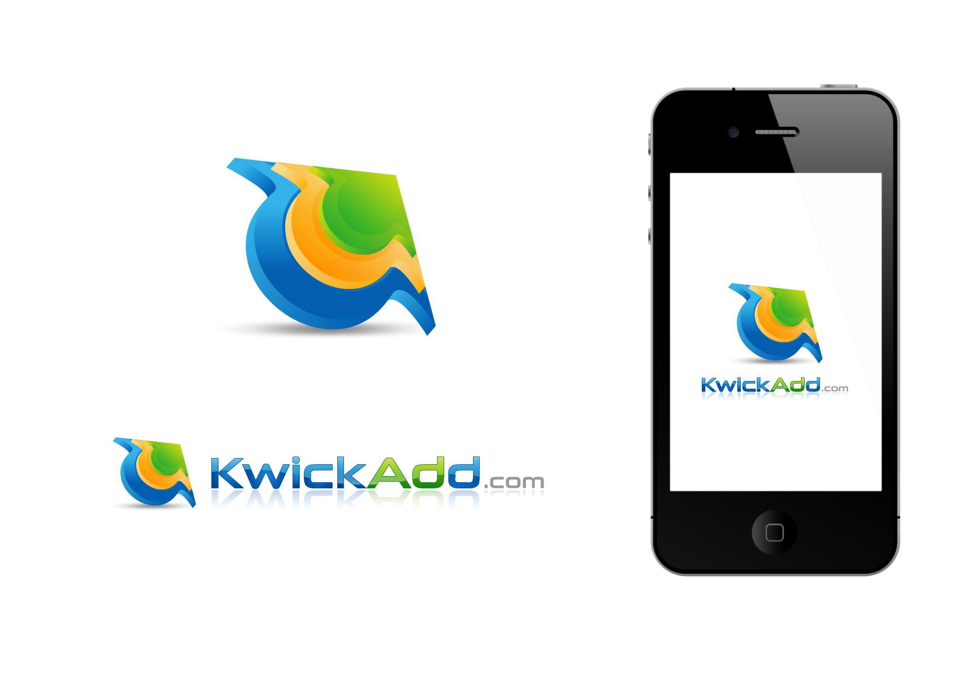 Help with Logo design for KwickAdd.com