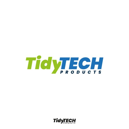 Tidy Tech Products Logo Design concept