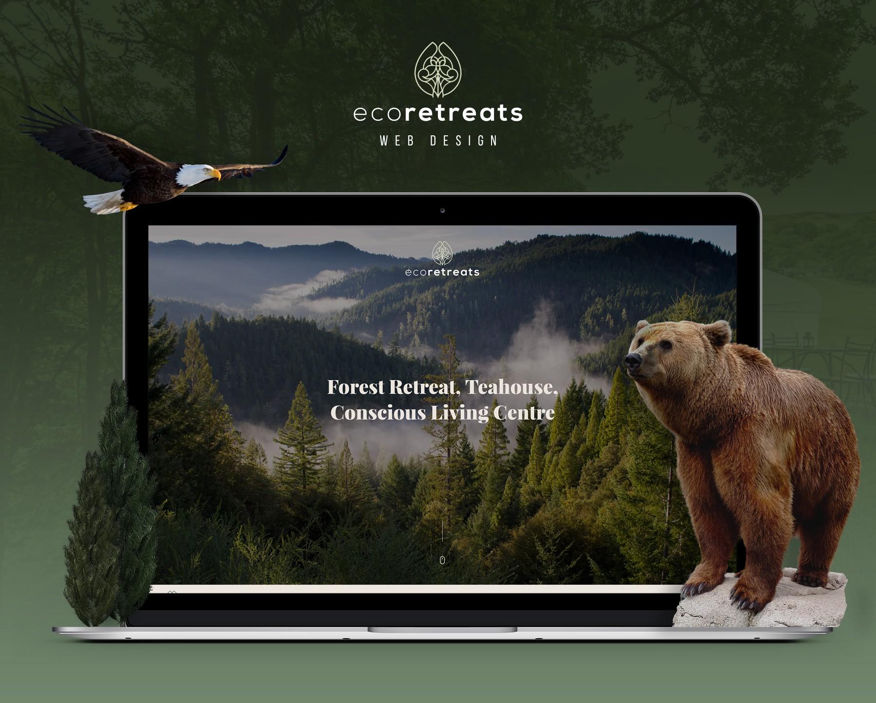 Eco Retreats website completion