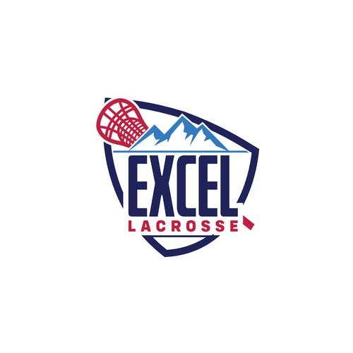 Lacrosse sport logo