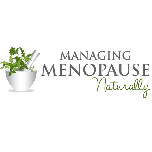 Help Managing Menopause Naturally with a new logo