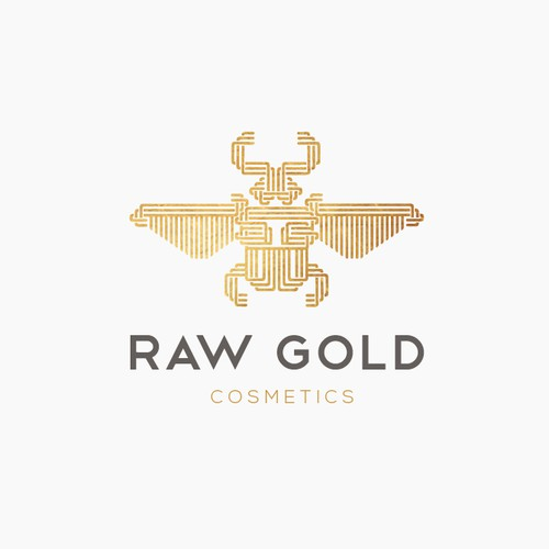 Sophisticated logo concept for Cosmetics&Beauty brand