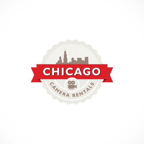 Logo concept for Chicago Camera Rentals