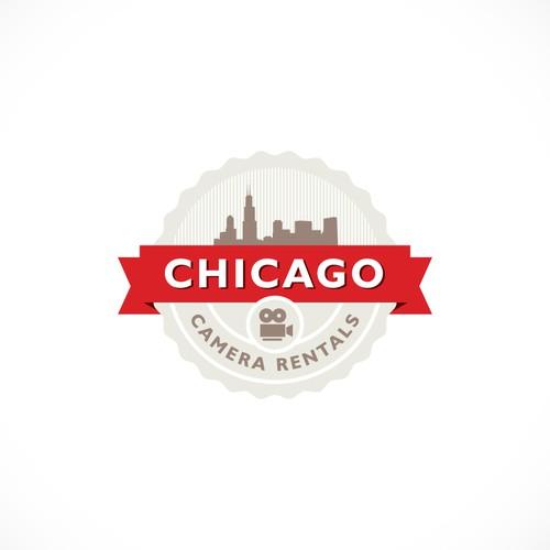 Logo concept for Chicago Camera Rentals