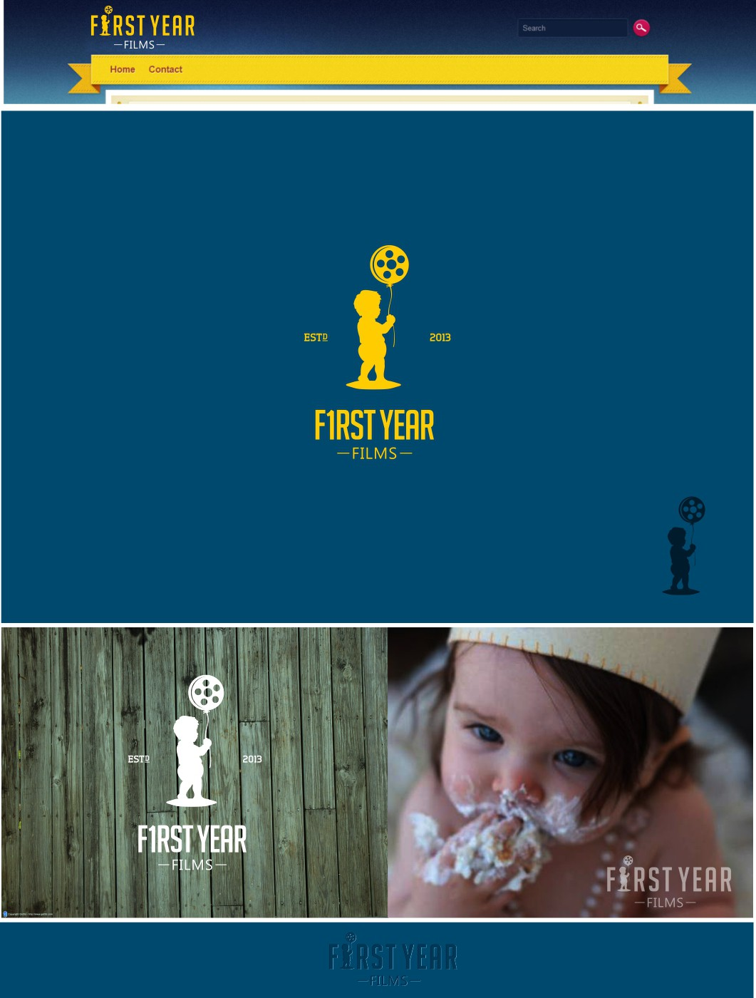 Create the next logo for First Year Films