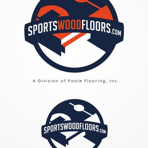 Create Branding for Sports Flooring Contractor @ sportswoodfloors.com