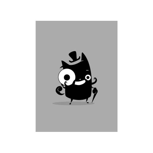 Critter = Hot new mobile startup needs simple & distinctive mascot!
