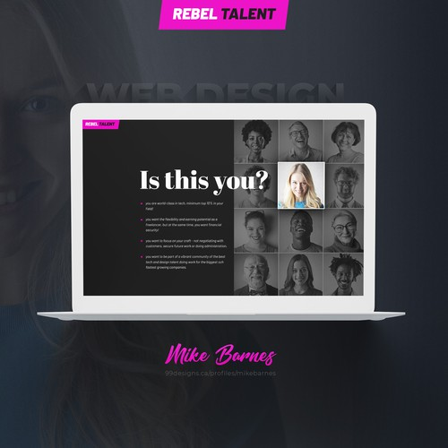 HR Consultancy Landing Page