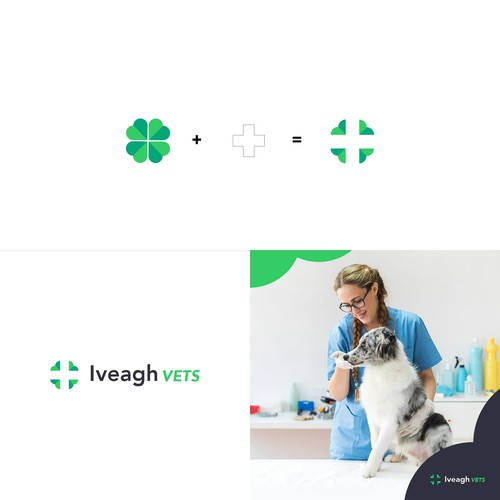 Logo concept for a Nothern-Irish Vet Clinic