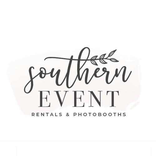 Event Rental Company/PhotoBooth needs sleek and elegant design!