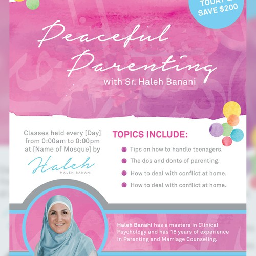 Poster for Peaceful Parenting