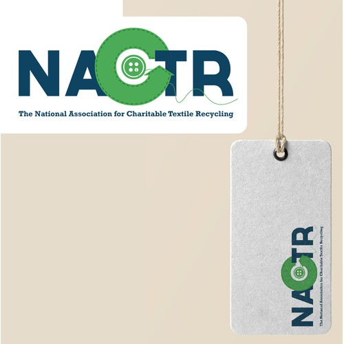 Logo for a charitable textile recycle association