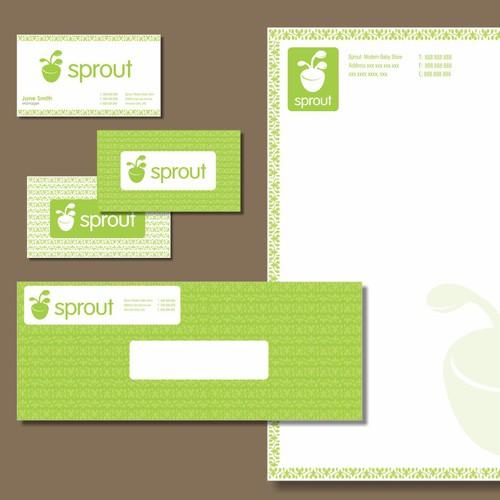 Sprout concept logo