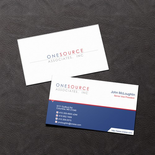ONESOURCE business card