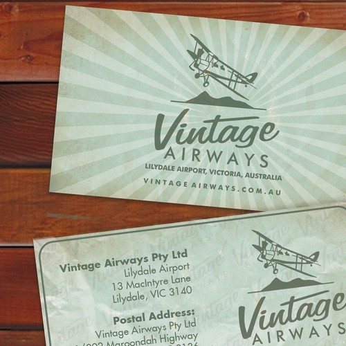 stationery for Vintage Airways