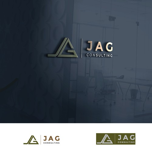 Logo design with company initials