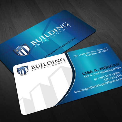 Business Cards for Building Intelligence, Inc.