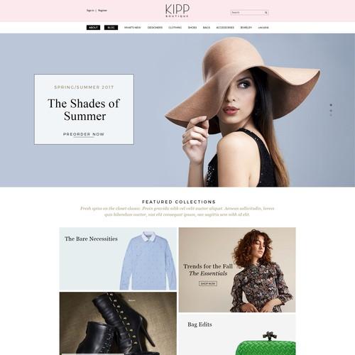 Online Women's Fashion Boutique