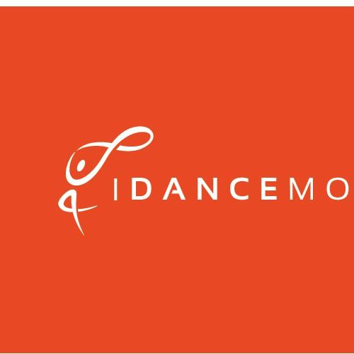 Modern logo concept a dance app