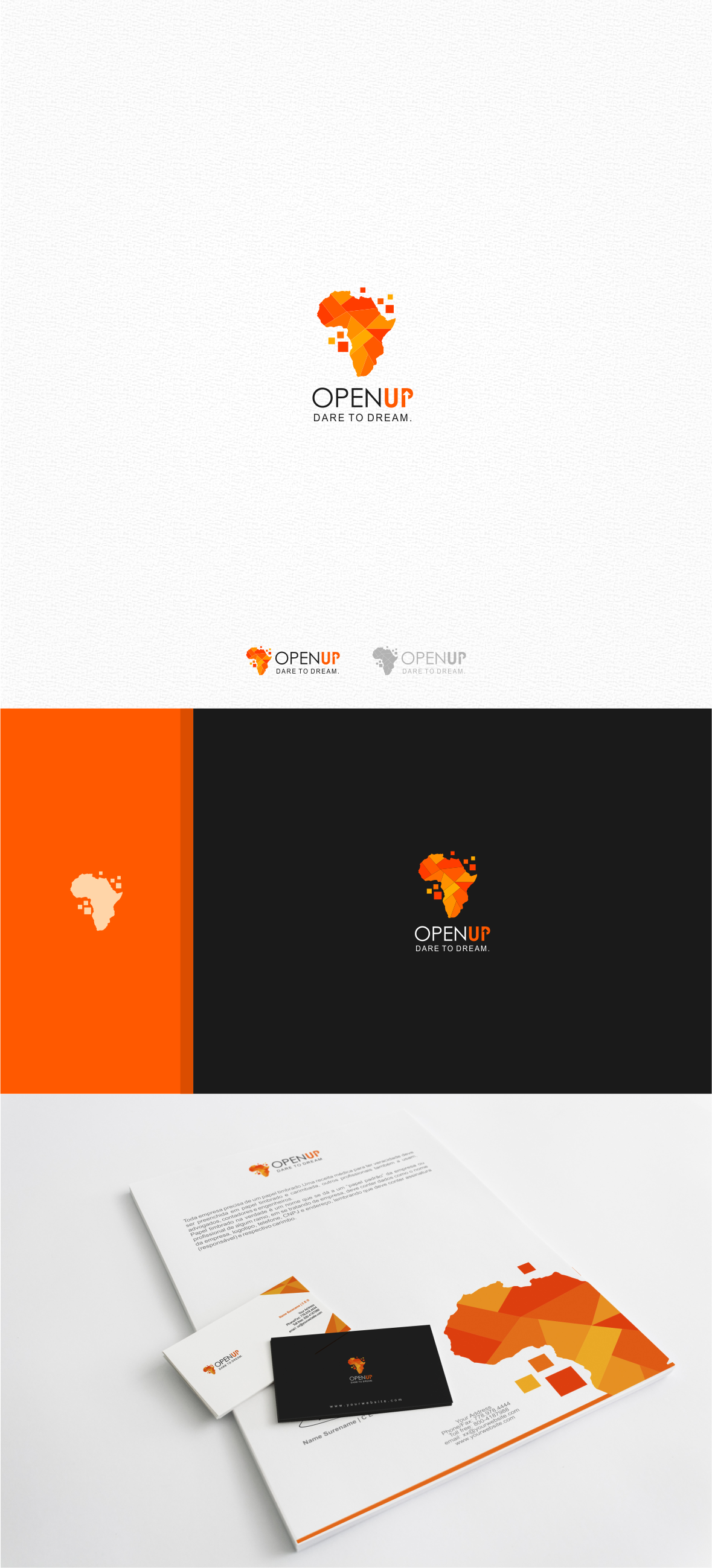 Create a simple but luxurious logo for media and communication.