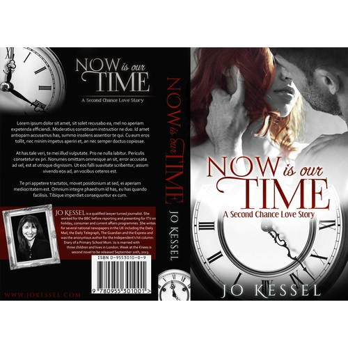 Now is our Time: Sexy Book Cover