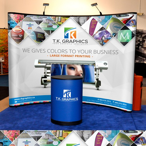 2015 Tradeshow Booth Display