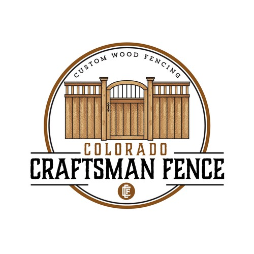 Logo Design for Colorado Craftsman Fence