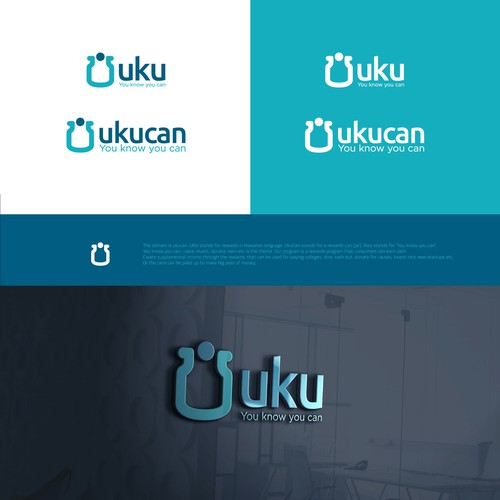 Bold logo concept for UKUCAN.