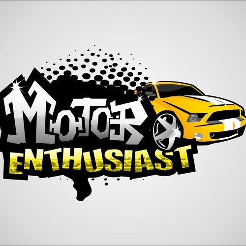 New logo and business card wanted for MOTOR ENTHUSIAST
